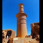 shaking adobe minaret8854