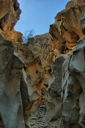Aali Mohammad Valley; Amazing Phenomenon in Qeshm Island
