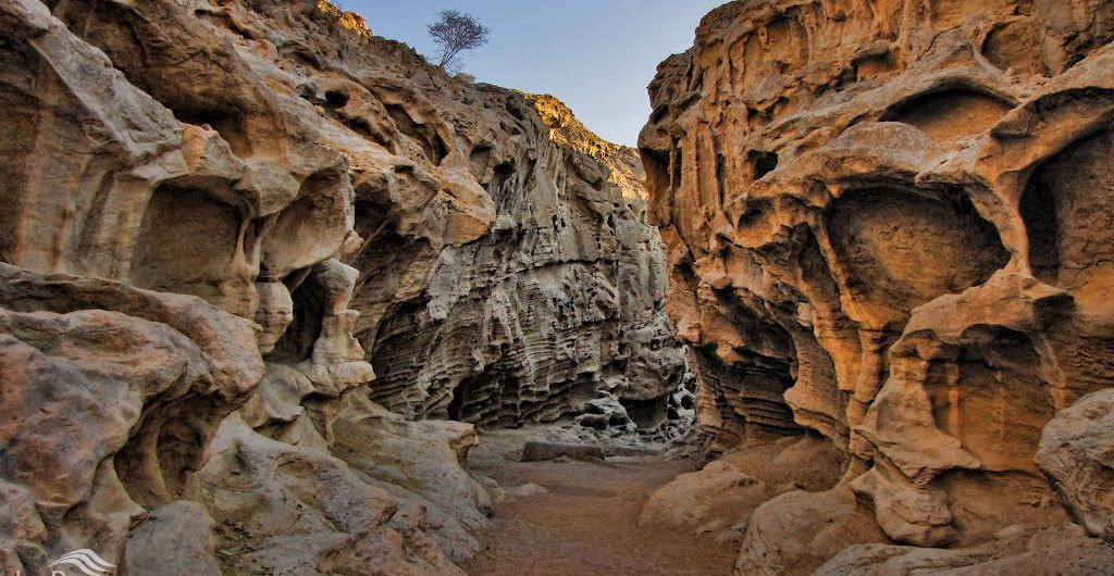 Aali Mohammad Valley in Qeshm Island, Iran