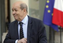 French difense minister