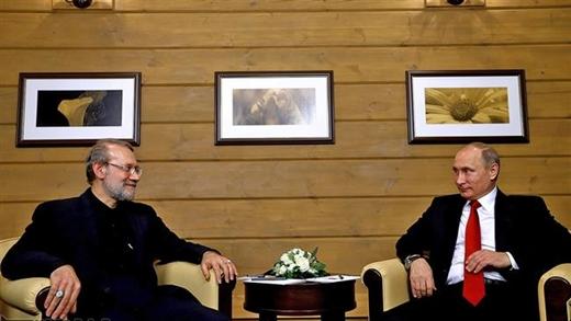 Larijani-Putin-1