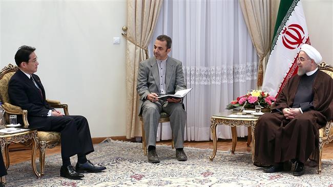 Rouhani-Japan-FM