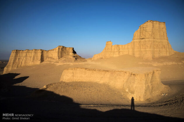 Remarkable desert formations in southeastern Iran (1)