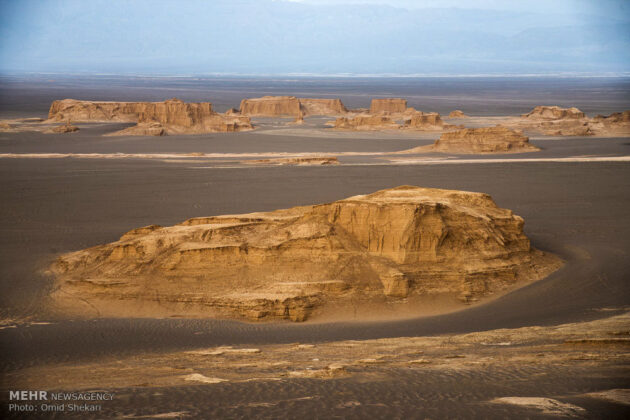 Remarkable desert formations in southeastern Iran (10)
