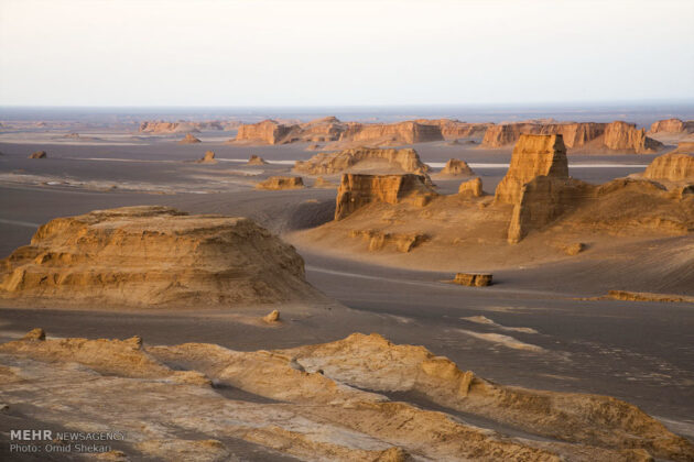 Remarkable desert formations in southeastern Iran (13)