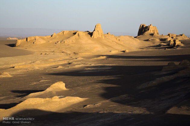 Remarkable desert formations in southeastern Iran (2)