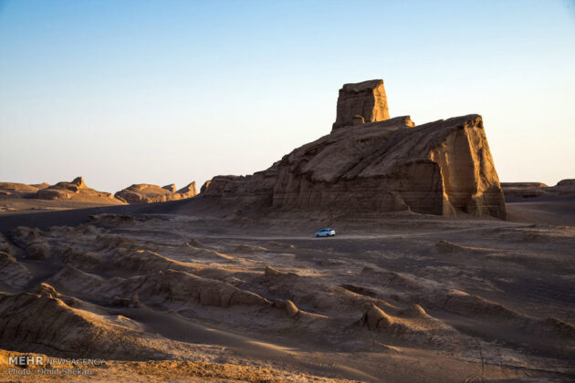 Remarkable desert formations in southeastern Iran (20)