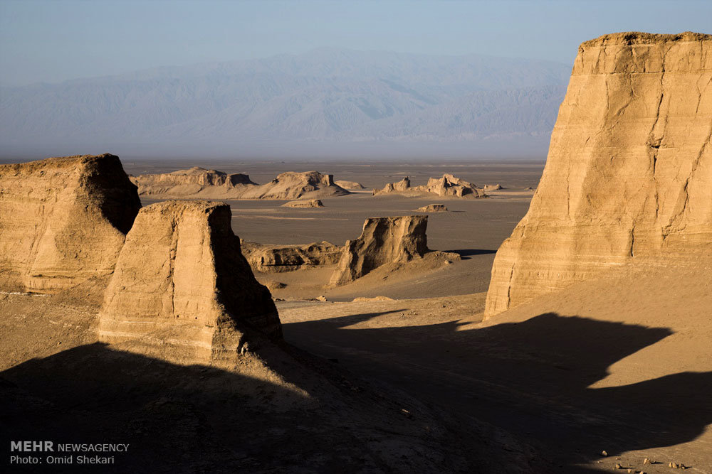 Remarkable desert formations in southeastern Iran (3)