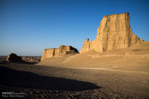Remarkable desert formations in southeastern Iran (4)