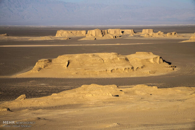 Remarkable desert formations in southeastern Iran (5)