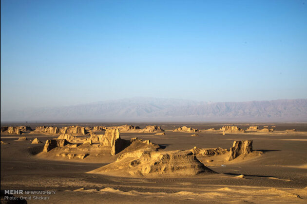 Remarkable desert formations in southeastern Iran (7)