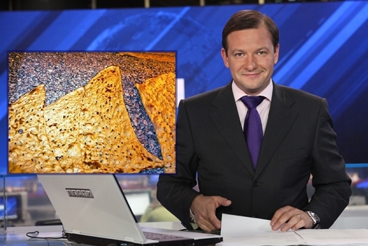 Russian anchor hails Sangak as the most delicious bread in the world