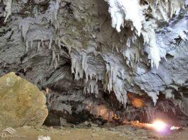 Namakdan Salt Cave of Iran's Qeshm Island