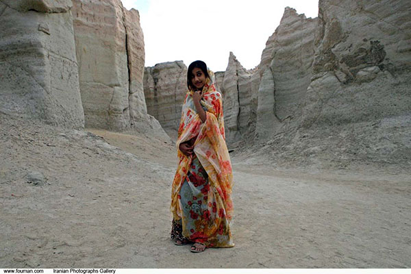 Girl from Qeshm Island, southern Iran