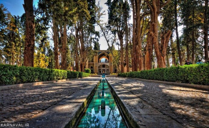 Fin Garden in Iran's Kashan