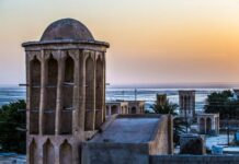 Laft Village, Port of Wind-catcher in Iran's Qeshm Island