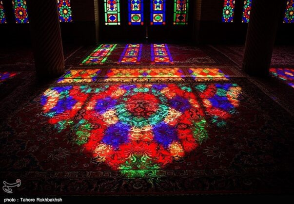 Nasir al-Mulk Mosque in Shiraz 1