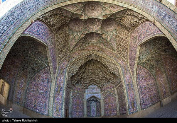 Pink Mosque in Shiraz 1