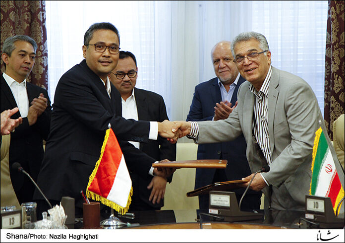 Indonesia-Iran-Gas