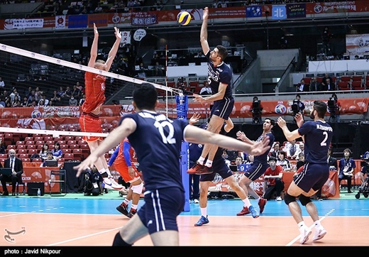 Iran-France-Volleyball