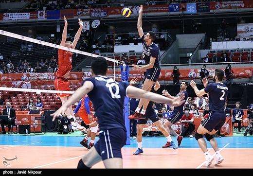 Iran-France-Volleyball