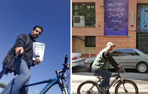 campaign for car-free Tuesdays, Iran