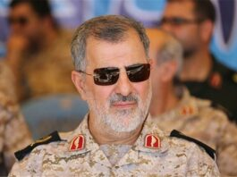 Commander of the IRGC Ground Force Brigadier General Mohammad Pakpour