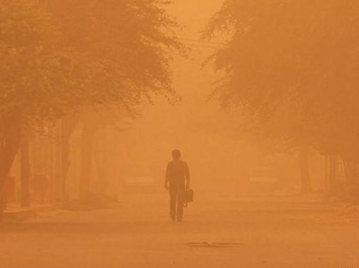 Dust Pollution in Iran