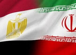 Iran-Egypt flags