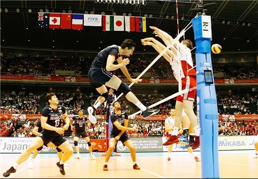 Iran-Poland Volleyball