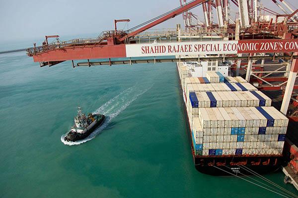 Iran Rajaie Port Activity