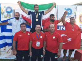 Wrestlers Triumph in Beach World Championship