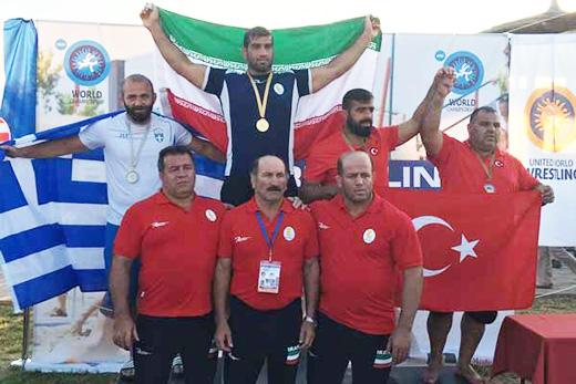 Wrestlers Triumph in Beach World Championship