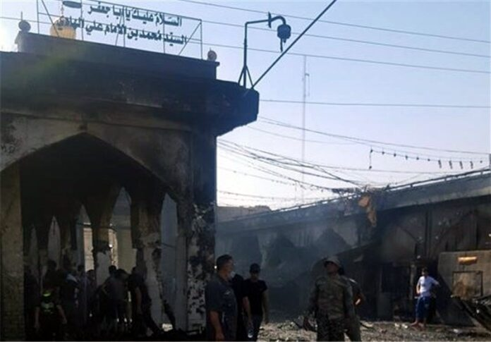 At Least 35 Killed in Daesh Attack on Shiite Shrine North of Baghdad