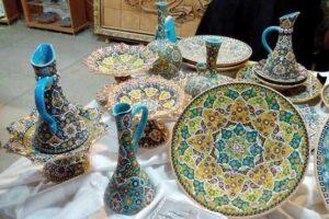 Iranian Handicrafts-Lalejin