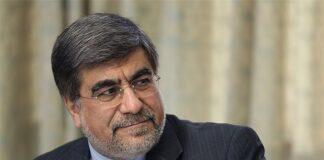 Iranian Minister of Culture and Islamic Guidance Ali Jannati