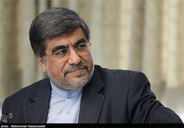 Iranian Minister of Culture and Islamic Guidance Ali Jannati