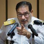 Secretary of Iran's Supreme National Security Council (SNSC) Ali Shamkhani