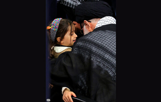 Ayatollah Khamenei-4-Year-Old Girl (4)