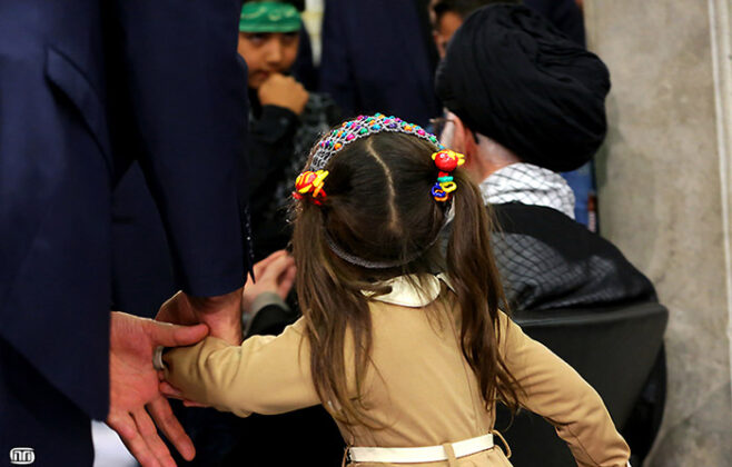 Ayatollah Khamenei-4-Year-Old Girl