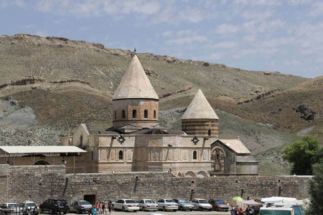 Qara Kelisa or St. Thaddeus Complex in Chaldoran, northwest of Iran