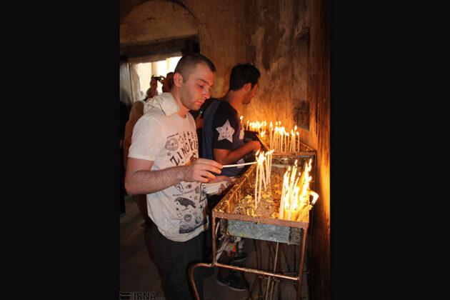 Qara Kelisa or St. Thaddeus Complex in Chaldoran, northwest of Iran, hosted the annual religious ceremony of Armenians known as Badarak.