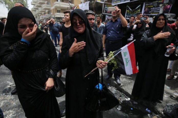 Baghdad Blast-Iraqi Women