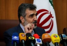 Behrouz Kamalvandi Spokesman for Atomic Energy Organization of Iran (AEOI)