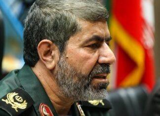 The IRGC spokesman, Brigadier General Ramezan Sharif
