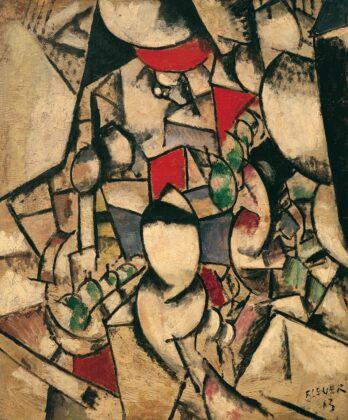 Paysage (landscape) by Fernand Léger