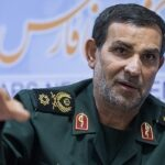 Lieutenant Commander of the Islamic Revolution Guards Corps Navy General Alireza Tangsiri