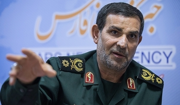 Lieutenant Commander of the Islamic Revolution Guards Corps Navy General Alireza Tangsiri