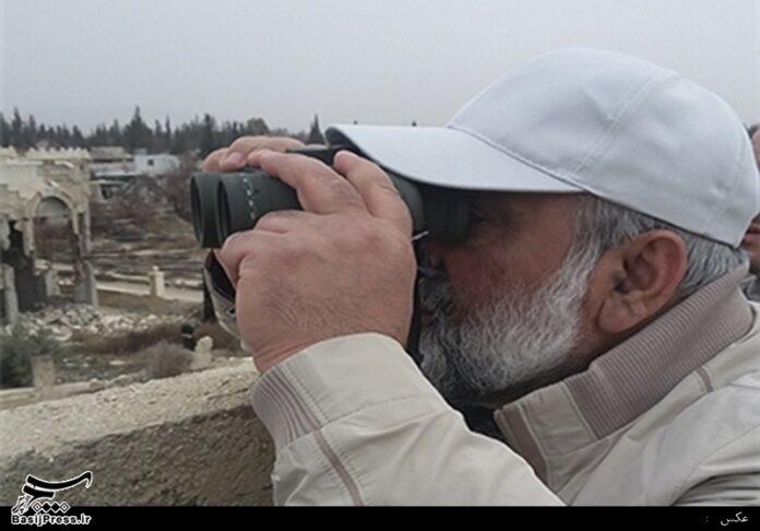 General Naghdi in Syria