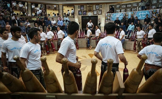 Iranians annually hold Golrizan ceremony in the Muslim holy month of Ramadan